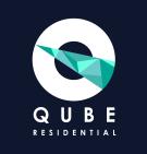 Qube Residential, Salford Quays Logo