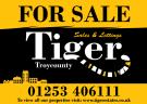 Tiger Sales & Lettings, Blackpool Logo