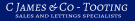 C James & Co, Tooting Logo