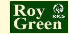 Roy Green Estate Agents, Leicester Logo