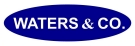 Waters & Co. , Birmingham Logo