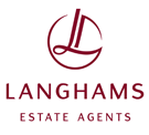 Langhams Estate Agents, Slough Logo