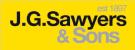 J.G Sawyers & Sons, WHITLEY BAY Logo