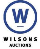 Wilsons Auctions Ltd, Dalry Logo
