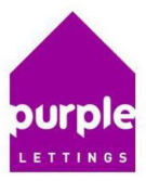 Purple Lettings, Southport Logo
