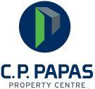 CP Papas Property Centre, London Logo