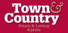 Town & Country Estate Agents, Wrexham Logo