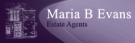 Maria B Evans Estate Agents, Croston Logo