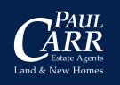 Paul Carr Land & New Homes, New Homes Logo