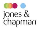 Jones & Chapman, Prenton Logo