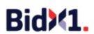 BidX1, London Logo