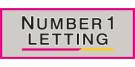 Number 1 Letting Ltd, Pontefract Logo