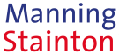 Manning Stainton, Guiseley Logo