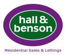 Hall and Benson , Alfreton Logo