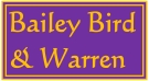 Bailey Bird & Warren, Fakenham Logo