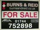 Burns & Reid Ltd, St Helens Logo