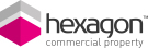 Hexagon Commercial Property, Stourbridge Logo
