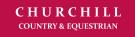 Churchill Country and Equestrian, Wisborough Green Logo