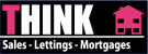 THINK Sales Lettings Mortgages, Newton-le-Willows Logo