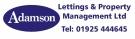 Adamson Lettings & Property Management Ltd, Warrington Logo