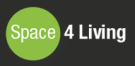 Space 4 Living Estate Agents, Reddish Logo