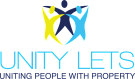 Unity Lets, Plymouth Logo