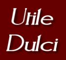 Utile Dulci, London Logo