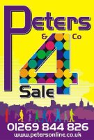 Peters and Co, Llanelli Logo