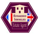 SARL RICHARDSON IMMOBILIER, Quillan Logo