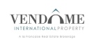 Vendome International Property, Bleu in Evian Logo