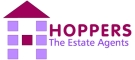Hoppers Estate Agency, Prestwick Logo