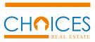Realty World/Choices Real Estate, Aydin Logo
