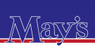 May's, Felpham Logo