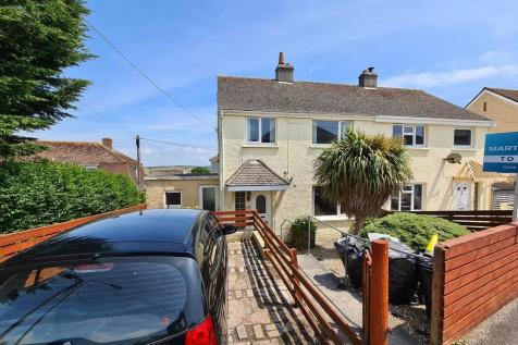 Tregullow Road, Falmouth. 4 bedroom semi-detached house