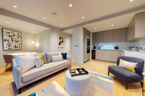 3 Canalside Walk, Paddington, W2. 2 bedroom apartment for sale