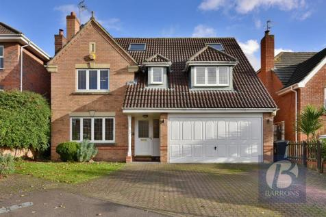 Biggs Grove Road, West Cheshunt. 5 bedroom detached house for sale