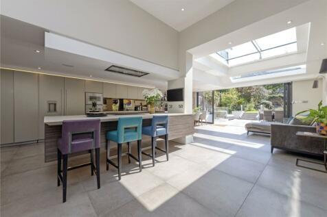 Elms Crescent, London, SW4. 5 bedroom terraced house for sale