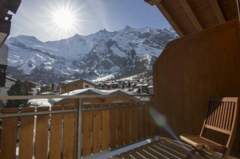 Valais, Saas Fee. 3 bedroom penthouse for sale