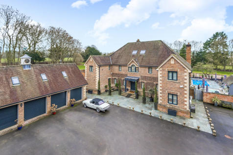 Middlecot, Quarley. 7 bedroom detached house for sale
