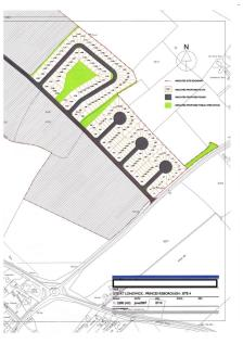14+ acres land on the north west side of Lower Icknield Way, Longwick, Princes Risborough. Land for sale