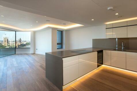 The Corniche, Albert Embankment. 3 bedroom flat for sale