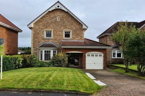 Taylor Green, Livingston, EH54. 4 bedroom detached house for sale