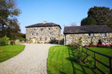 Dolydd, Gwynedd. 3 bedroom detached house for sale