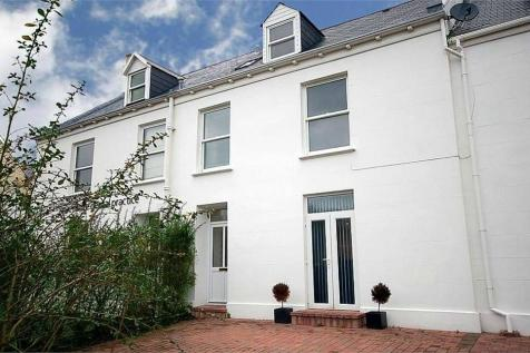 Rue Maze, St Martin, Guernsey, Channel Islands. 4 bedroom terraced house for sale