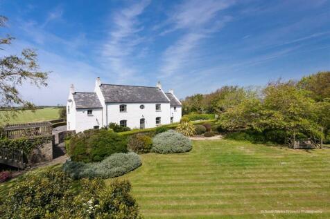 Downs Farmhouse, Wick Road, Llantwit Major. 5 bedroom detached house for sale