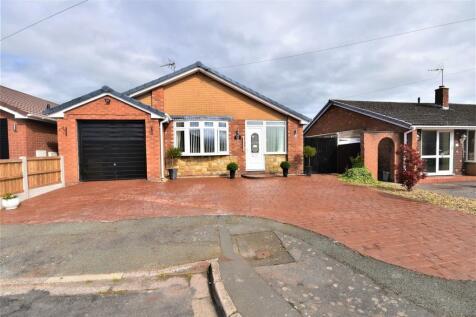 Ffordd Tegid, Wrexham. 3 bedroom detached bungalow for sale