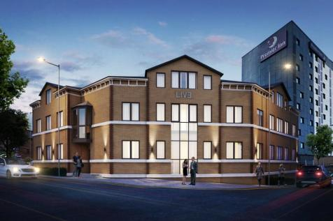 George Street, Bradford, West Yorkshire, BD1. Studio flat