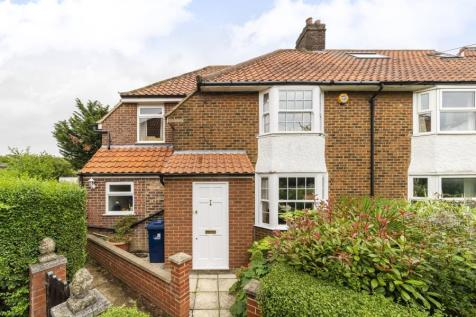 Walton Gardens, W3. 3 bedroom end of terrace house for sale