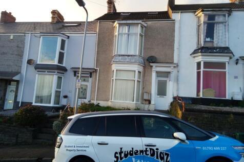 Malvern Terrace, Brynmill, Swansea. 4 bedroom house