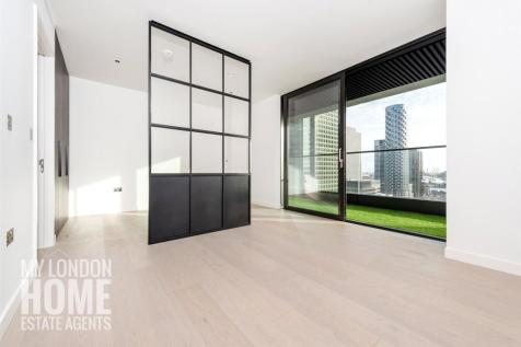 Bagshaw Building, 1 Wards Place, The Wardian, Canary Wharf, E14. Studio apartment for sale